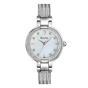 zegarek damski srebrny Bulova 96R177